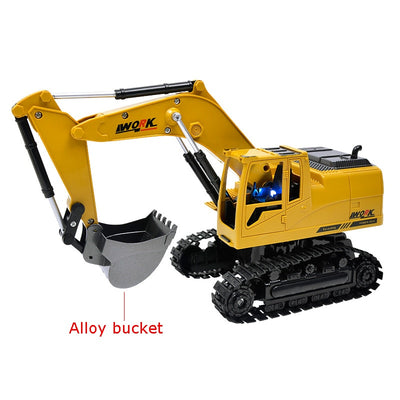 RC Truck Excavator Toy alloy bucket