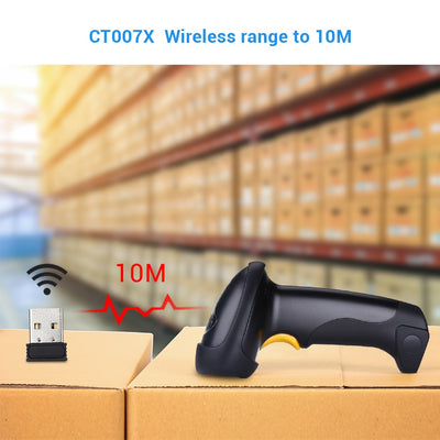 Handheld Wireless Barcode Scanner Reader boxes