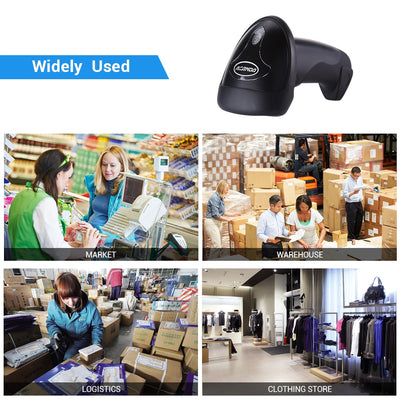 Handheld Wireless Barcode Scanner Reader widely used