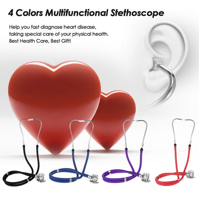 Professional Multifunctional Stethoscope Portable colors