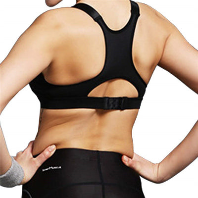 Best High Impact Padded Sports Bra back cross strap