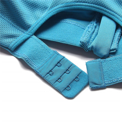 Best High Impact Padded Sports Bra strap