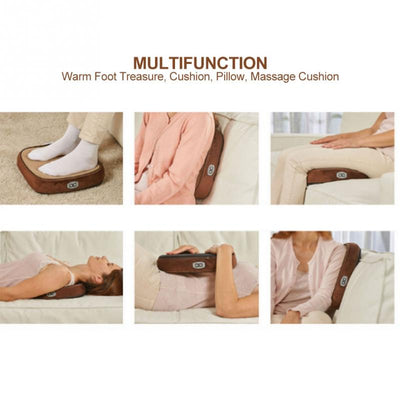 Electric Heated Foot Massager functions