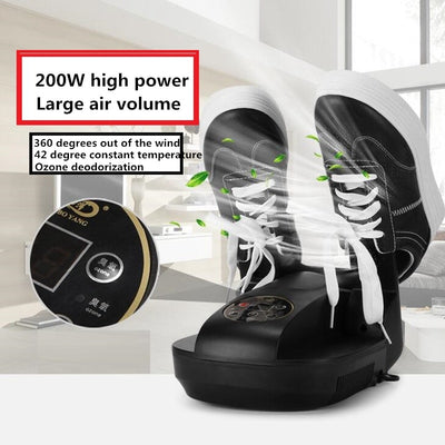 Portable Electric Boot Dryer with shoe cleaner zoom in