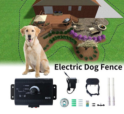 Invisible Electric Dog Fence lawn house pet