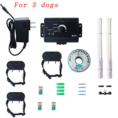 Invisible Electric Dog Fence for 3 dogs variant