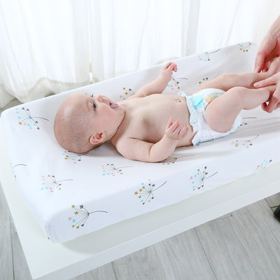 Breathable Changing Pad Cover Sheet baby diaper