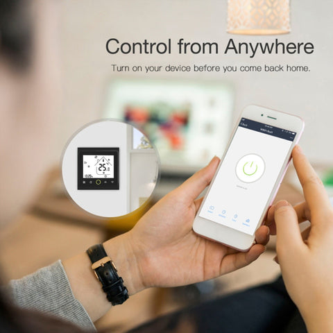 Programmable Smart Wifi Home Thermostat control in app