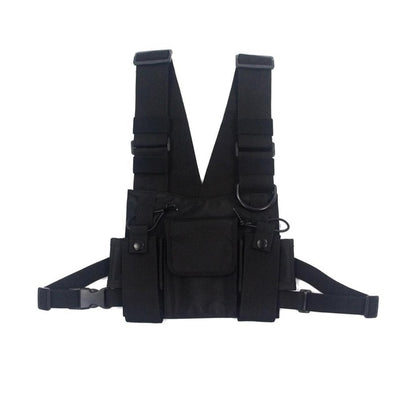 Tactical Military Chest Rig Front View