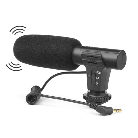 Hi-tech Camera Microphone Excellent Quality  front