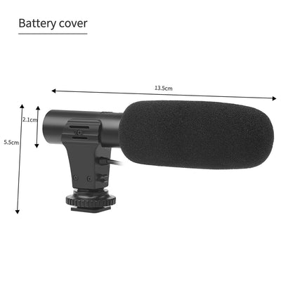 Hi-tech Camera Microphone Excellent Quality dimensions