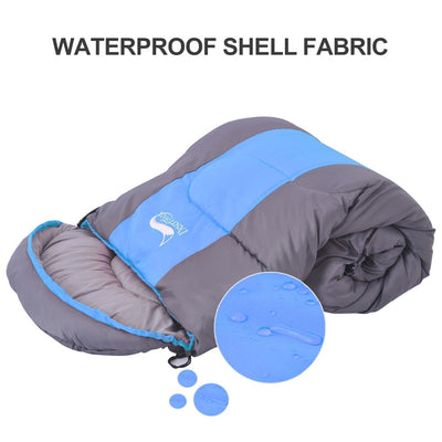 Waterproof Compact Sleeping Bag waterproof shell fabric