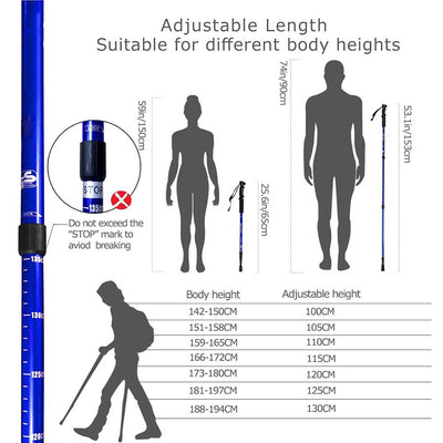 Trekking Hiking Stick Poles product guide