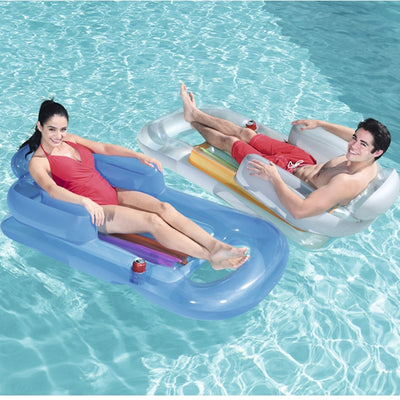 Inflatable Best Pool Float Raft in the swimming pool