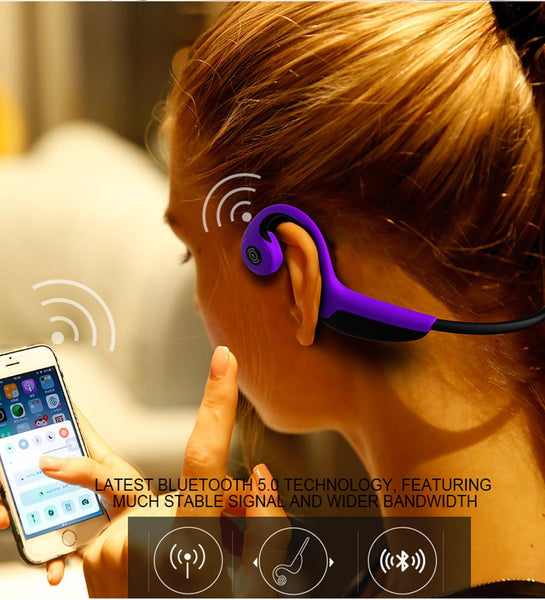 BONE CONDUCTION HEADPHONE - bluetooth