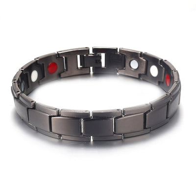 Magnetic Copper Jewelry Therapy Bracelets pure black