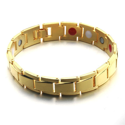 Magnetic Copper Jewelry Therapy Bracelets pure gold