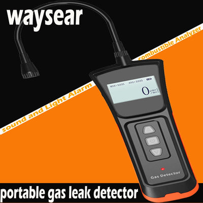Portable Gas Leak Detector front