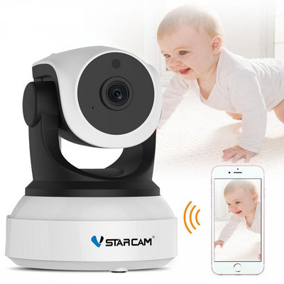 Smart Camera with Motion Sensor WiFi Baby Monitor mobile