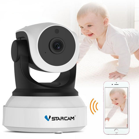 Smart Camera with Motion Sensor WiFi Baby Monitor thru phone