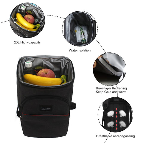 Thermal Storage Backpack Cooler feature