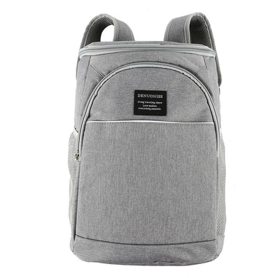 Thermal Storage Backpack Cooler white