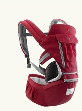 Hipseat Sling Front Baby Carrier red
