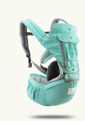Hipseat Sling Front Baby Carrier Green
