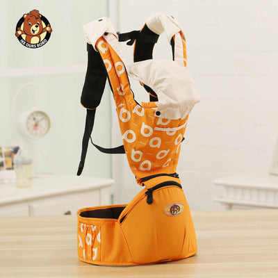 Hipseat Sling Front Baby Carrier orange