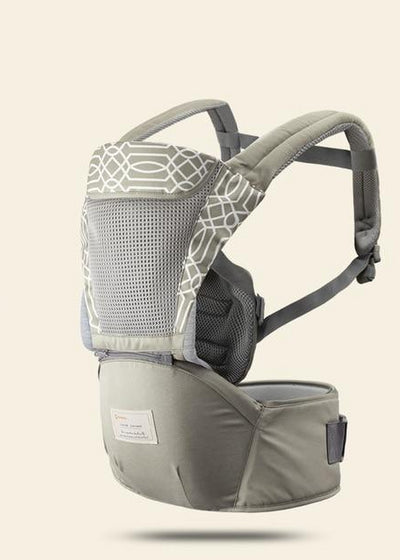 Hipseat Sling Front Baby Carrier light khaki