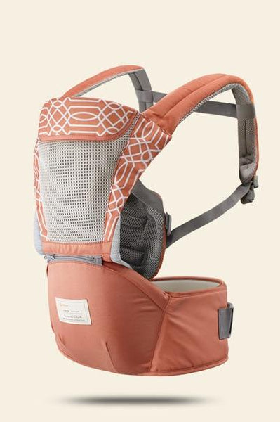 Hipseat Sling Front Baby Carrier dark orange