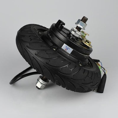 Electric Scooter Hub Wheel Bicycle Motor 24V DC Brushless Toothless 8″