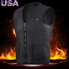Electric USB Heated Warm Vest Men Women Heating Coat