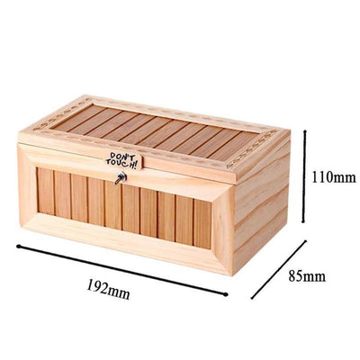 WOODEN USELESS BOX