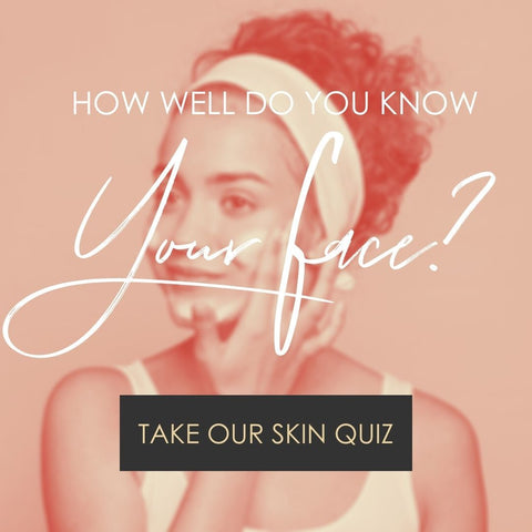 Skincare Quiz call to action image