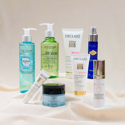 curated collection dry skin 8 step
