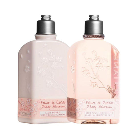 L'Occitane Cherry Blossom Shower Gel and Milk Mother's Day 2021