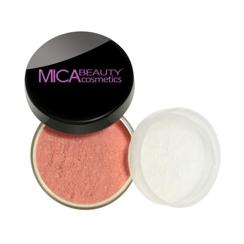 Mica Beauty 100% Natural Mineral Blush Powder - Autumn Sunset Product View