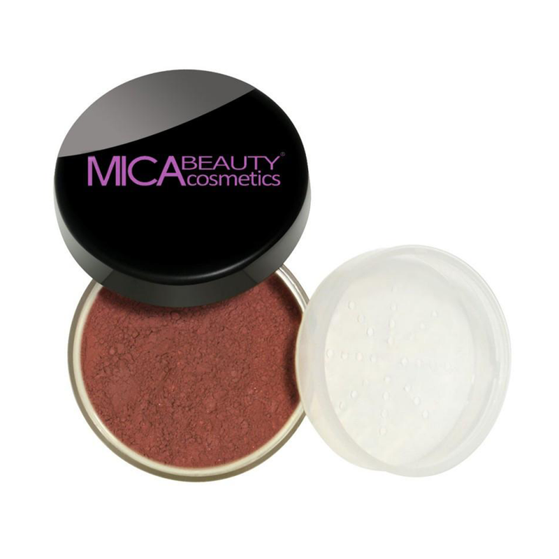 Mica Beauty 100% Natural Mineral Blush Powder - Sierra Suede Product View