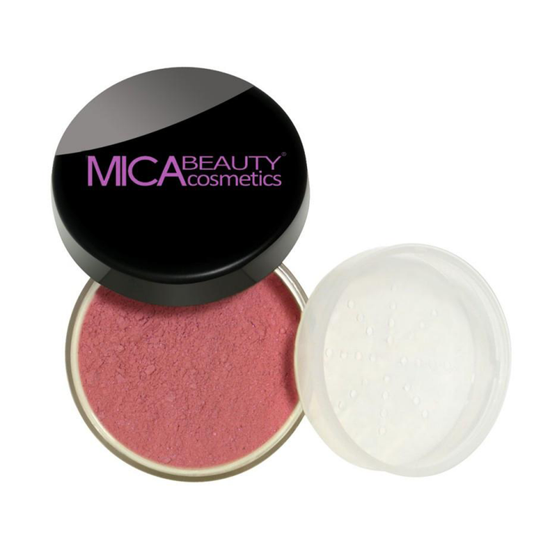 Mica Beauty 100% Natural Mineral Blush Powder - Wild Rose Product View