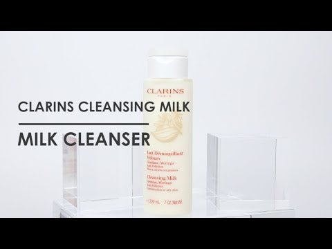 Clarins Cleansing Milk With Gentian, Moringa 200ml (Combination Or Oily Skin)