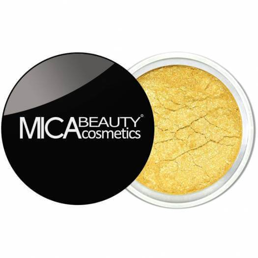 Mica Beauty 100% Natural Mineral Eye Shadow - 30-Gold Rush Product View