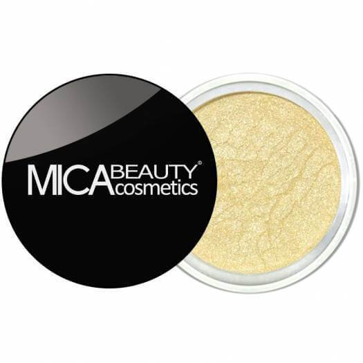 Mica Beauty 100% Natural Mineral Eye Shadow - 49-Sunshine Product View