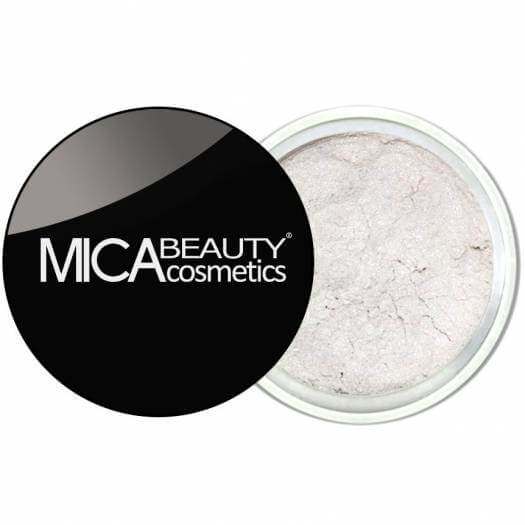 Mica Beauty 100% Natural Mineral Eye Shadow - 61-Arctic-White Product View