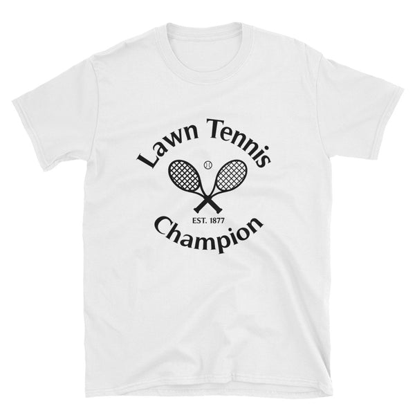 Lawn Tennis Champion Short-Sleeve Unisex T-Shirt