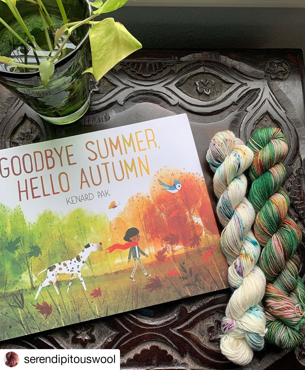 Yarn Journeys Book Club: September - Birch Hollow Fibers