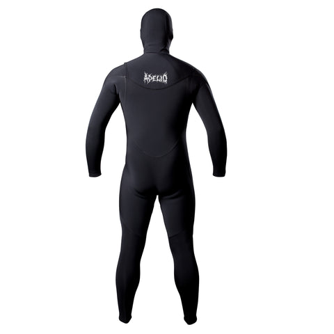 Adelio Chippa x Sketchy Tank Hooded 4/3 Full Wetsuit