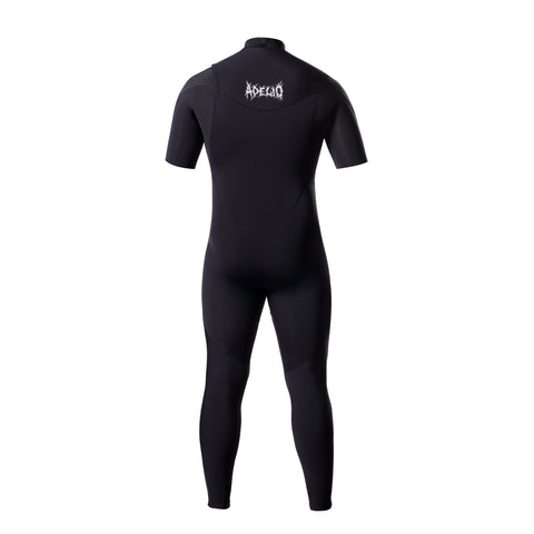 Adelio Chippa Wilson x Sketchy Tank  Zipperless 2/2 Short arm Full Wetsuit