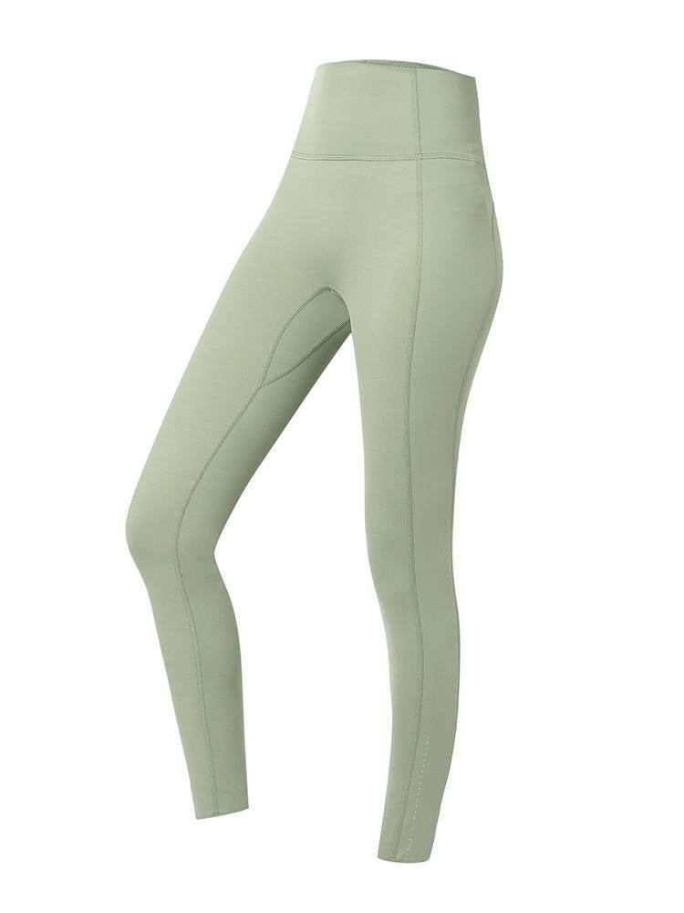 Sloli High Waist Hip Up Leggings XS / Green