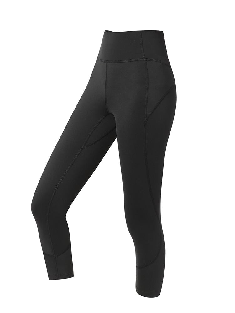 Sloli Quick Dry Cropped Leggings XS / Black
